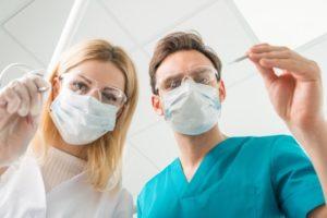 歯科治療風景